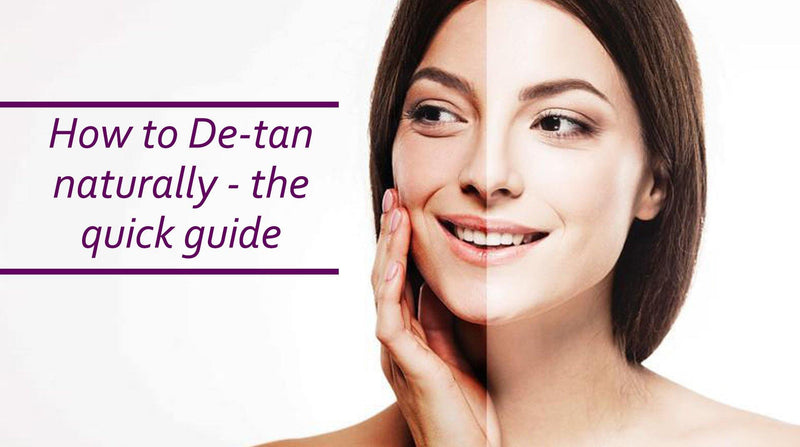 Blog 60: How to de-tan naturally, this summer - the quick guide - Keya Seth Aromatherapy
