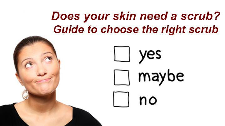 Blog 51: Does your skin really need a scrub? Guide to choose the right scrub - Keya Seth Aromatherapy