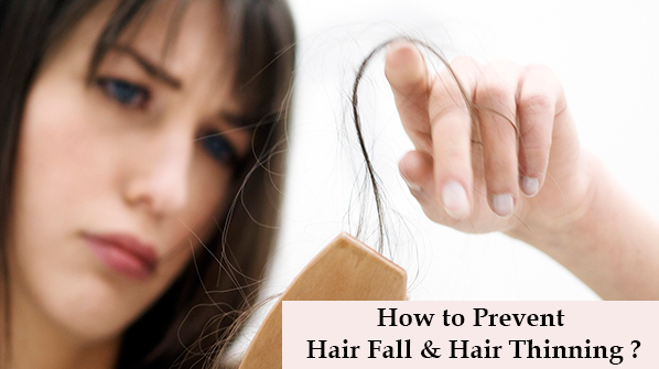 How to prevent hair fall and hair thinning? - Keya Seth Aromatherapy