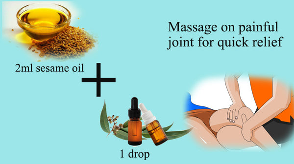 eucalyptus essential oil for joint pain