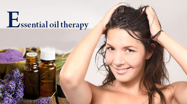 essential oil treatment for mending damaged hair