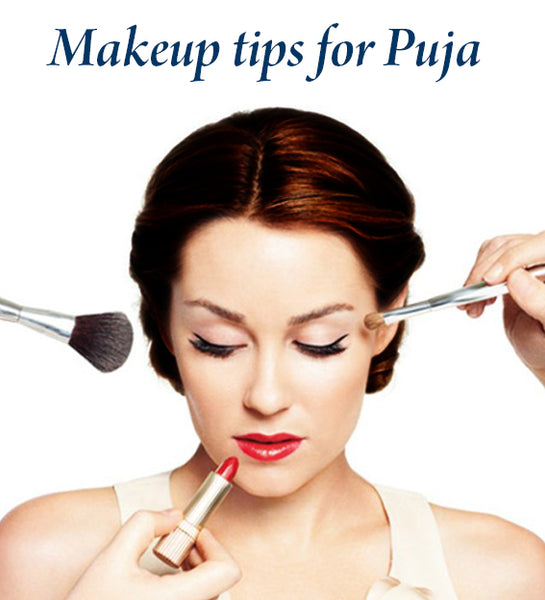 makeup tips for puja