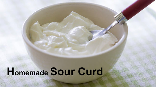 sour curd for cracked heel