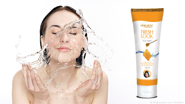 Fresh look honey face wash