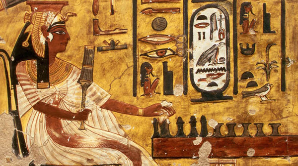 essential oils in Egyptian history