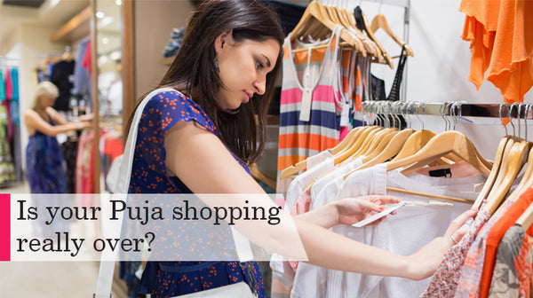 shopping bag checklist before puja