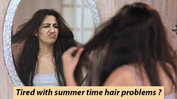 key to minimize summer time hair problems