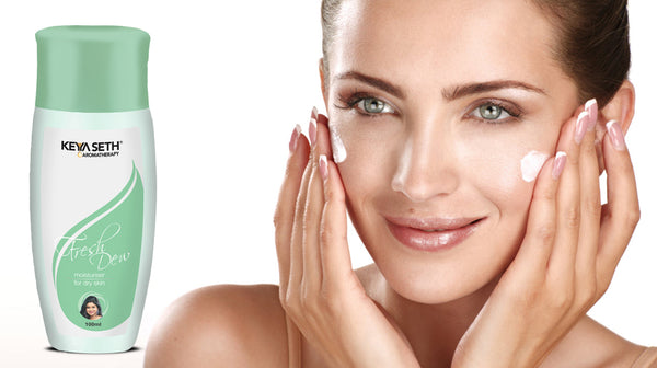moisturize your skin with fresh dew moisturizer