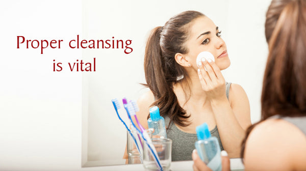 cleansing is essential