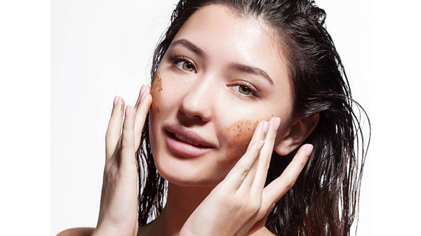 scrubbing is important for brighter skin