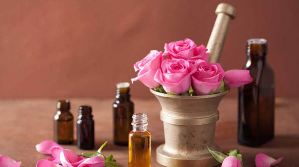 rose essential oil for better sleep