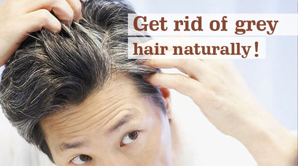 get rid of grey hair