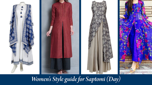 pujo style guide day for women