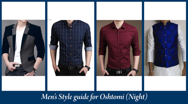 puja style for men