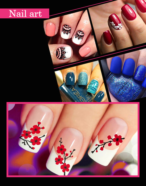 nail art for puja