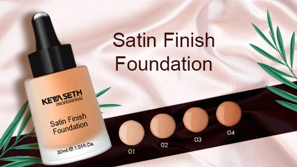 Satin Finish Foundation in 4 shades