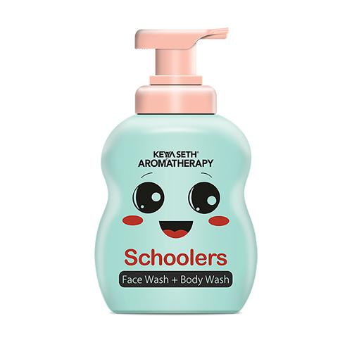 Schoolers Face & Body wash with No Harmful Chemical Deeply Nourishing Wash for Kids, Hypoallergenic, Paraben & Sulfates Free- 300ml