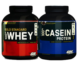 Supplementary Protein Sources: Casein, Whey, and Blends