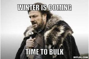 The bulking guide: How to bulk up in the winter