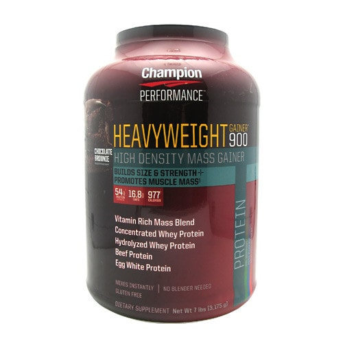 Champion Nutrition Heavyweight Gainer 900 7lbs - AdvantageSupplements.com