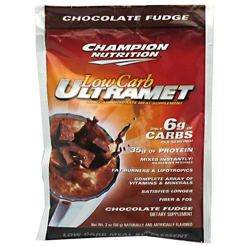 Champion Nutrition Low Carb Ultramet (60 packets) - AdvantageSupplements.com