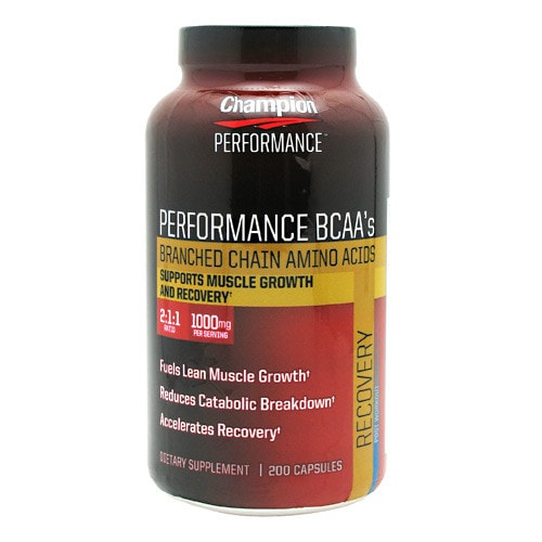 Champion Nutrition Wellness Nutrition Performance BCAA's 200caps - AdvantageSupplements.com