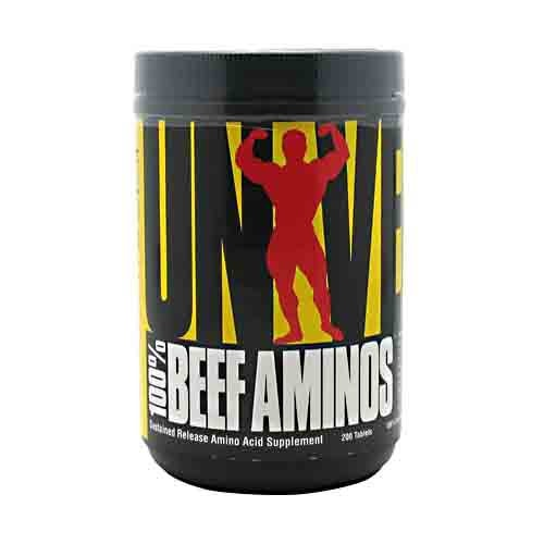 Universal Nutrition 100% Beef Aminos 200tabs - AdvantageSupplements.com