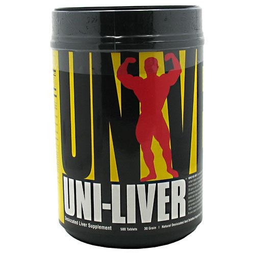 Universal Nutrition Uni-Liver 500tabs