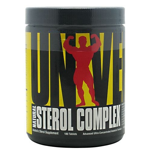 Universal Nutrition Natural Sterol Complex 180tabs - AdvantageSupplements.com