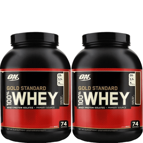 Optimum Nutrition Gold Standard 100% Whey 10 Pound Pack (2 x 5 lbs) - AdvantageSupplements.com