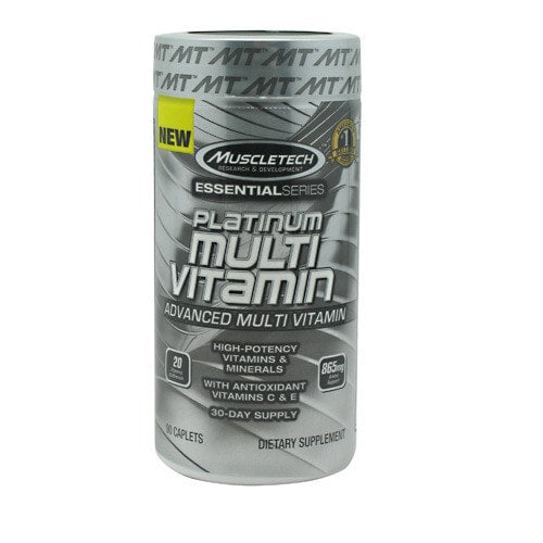 MuscleTech Essential Series Platinum Multi Vitamin 90caps - AdvantageSupplements.com