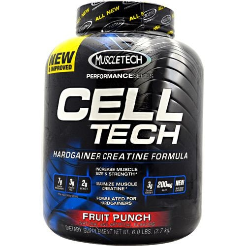 MuscleTech Performance Series Cell-Tech 6lbs