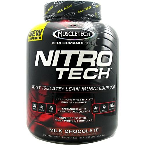 MuscleTech Performance Series Nitro-Tech Protein 4lbs