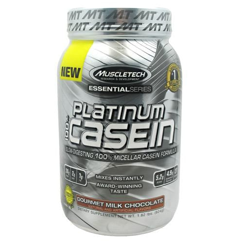 MuscleTech Essential Series 100% Platinum Casein Protein 1.83lbs - AdvantageSupplements.com