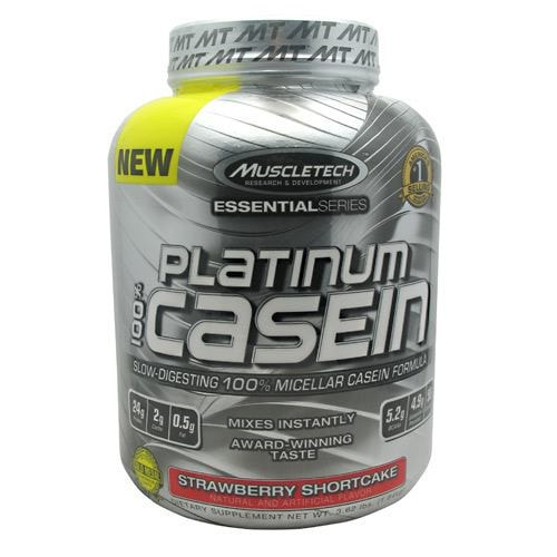 MuscleTech Essential Series 100% Platinum Casein Protein 3.66lbs - AdvantageSupplements.com