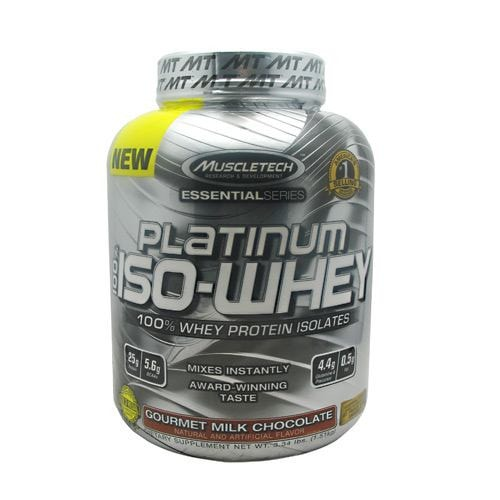 MuscleTech Essential Series 100% Platinum Iso-Whey Protein 3.34lbs - AdvantageSupplements.com