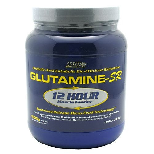 MHP Glutamine-SR 1000gm - AdvantageSupplements.com
