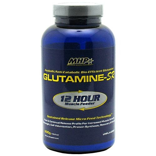 MHP Glutamine-SR 300gm - AdvantageSupplements.com