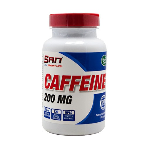SAN Caffeine 200mg 120caps - AdvantageSupplements.com