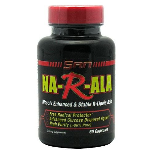 SAN Na-R-Ala 60caps - AdvantageSupplements.com