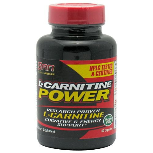 SAN L-Carnitine Power 60caps - AdvantageSupplements.com