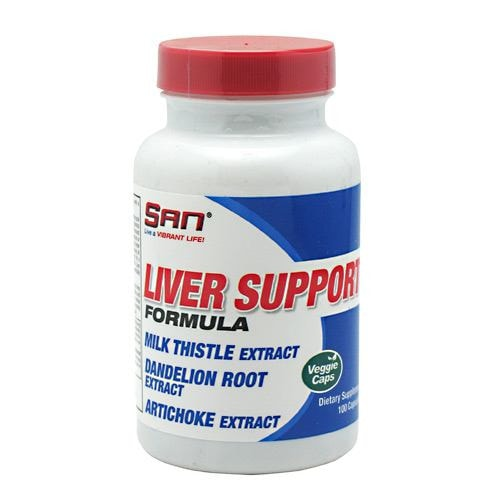 SAN Liver Support 100caps - AdvantageSupplements.com