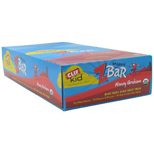 Clif Kid Organic Zbar (18 bars) - AdvantageSupplements.com