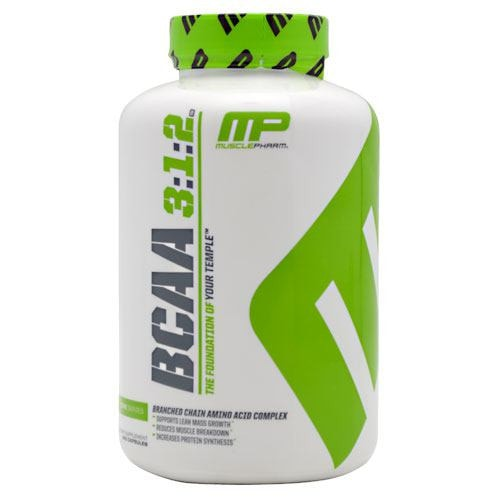 MusclePharm BCAA 3:1:2 240caps - AdvantageSupplements.com