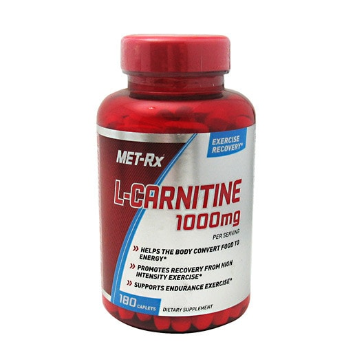 MET-Rx L-Carnitine 1000 180caps - AdvantageSupplements.com