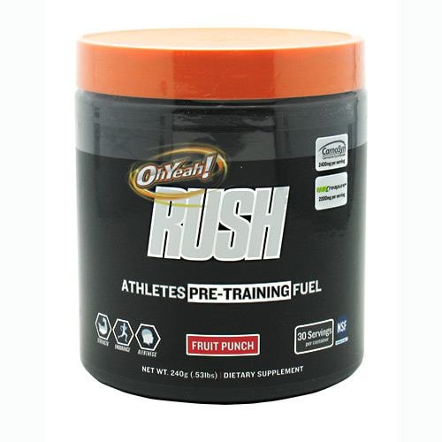 ISS Oh Yeah Rush 240gm - AdvantageSupplements.com