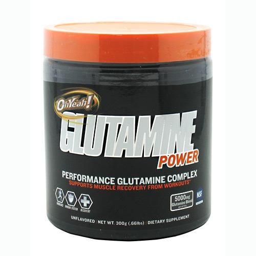 ISS Oh Yeah Glutamine Power 300gm - AdvantageSupplements.com
