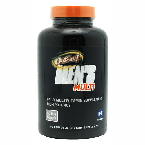 ISS OhYeah! Men's Multi, 90 Caps - AdvantageSupplements.com