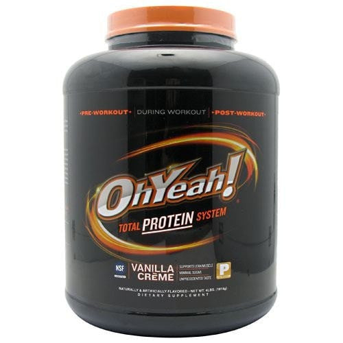 ISS OhYeah! Protein Powder 4lbs On Sale - AdvantageSupplements.com
