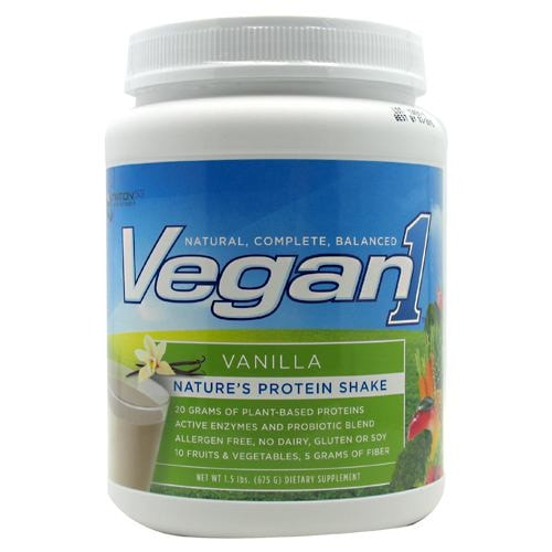 Nutrition53 Vegan1 Protein 1.5lbs - AdvantageSupplements.com